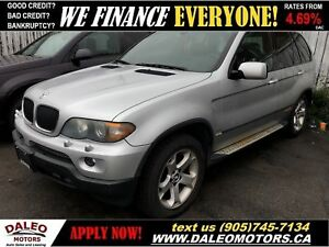2005 BMW X5 3.0i| HEATED SEATS| YOU SAFETY, YOU SAVE!!