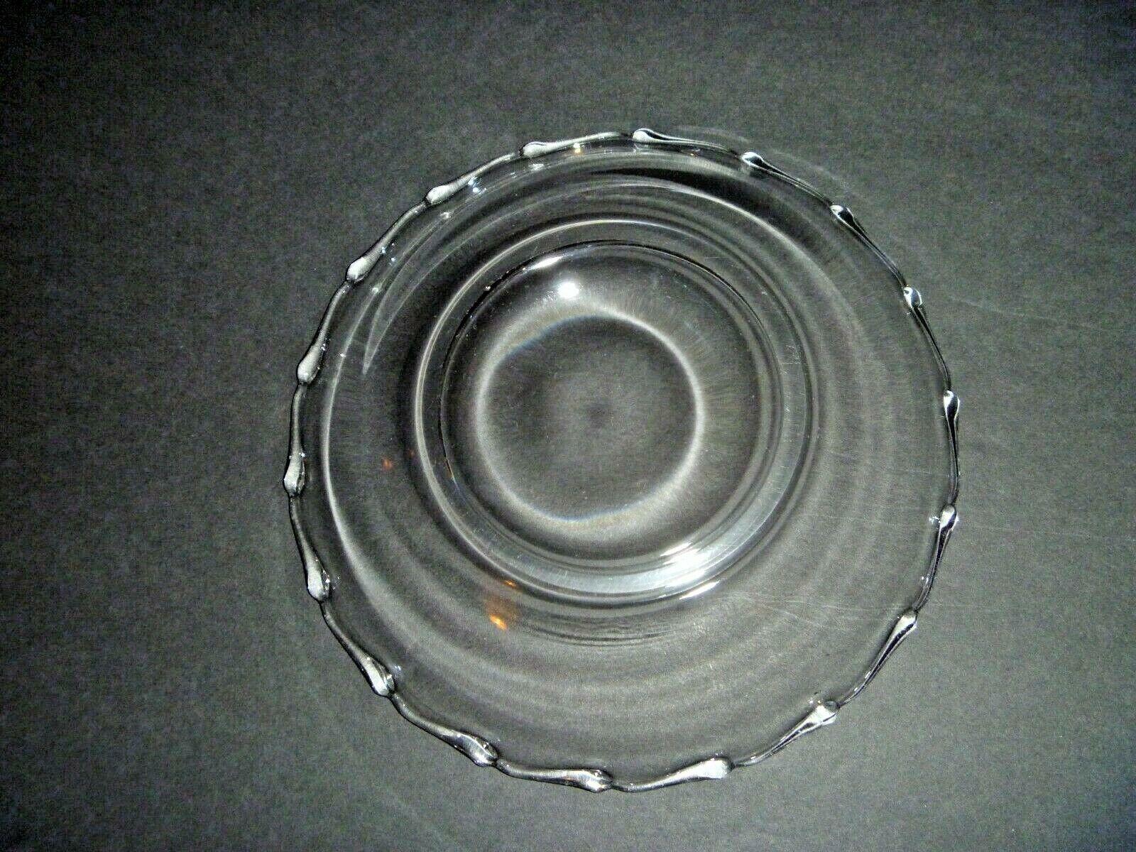 VINTAGE - FOSTORIA CENTURY - FLARED CLEAR GLASS BOWL - FRUIT BOWL - MID CENTURY - $1.99
