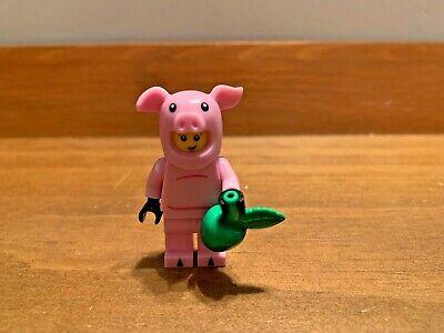 Lego Piggy Suit Guy Pig Pink Tail 71007 Series 12 Boy Minifigure Costume