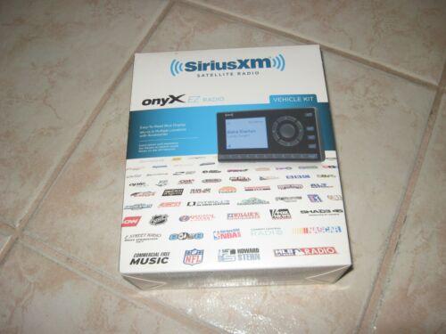 NEW & SEALED BOX SIRIUS XM SATELLITE RADIO XEZ1V1 ONYX EZ RADIO VEHICLE KIT