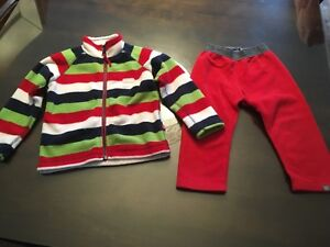 Pyjama en polar Souris Mini gr. 2 ans