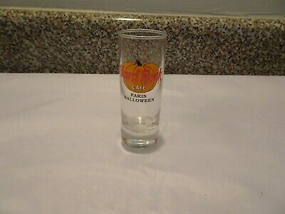 Hard Rock Cafe Paris Shot Glass City graphics Halloween 1999 Event NEW](Rock City Halloween)
