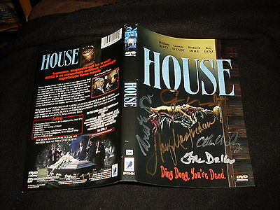 House   House 2 Dvd Set Signed By Cheers Norm George Wendt   4 Other Cast Crew