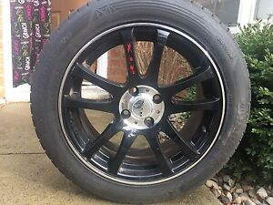 Hankook snow tires with rims for sale