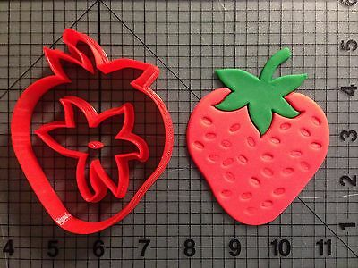 Strawberry Cookie Cutter (Strawberry Cookie Cutter Set)