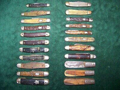 Antique, Vintage, Keen Kutter Pocket Knife Parts/Repair Lot