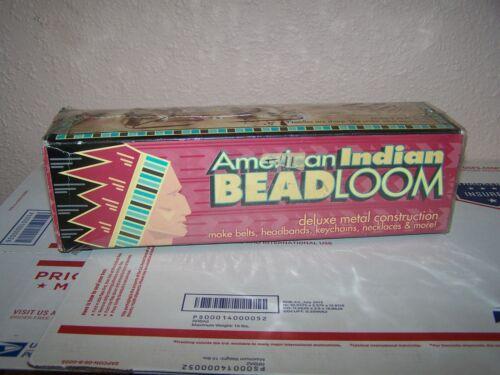 American Indian Bead Loom Kit Metal NEW IN BOX
