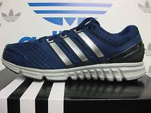 NEW Adidas shoes US SIZE 8.5 MEN Blue with Silver stripes and tri Eastwood Ryde Area Preview