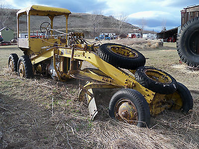 Case Model Li Tractor Galion Hydraulic Road Grader Attachment L La