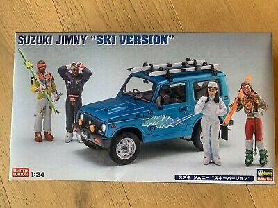 +++ Hasegawa 1/24 Suzuki Jimmy, Ski Version 620476 20476