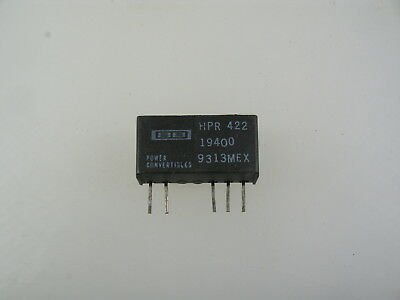 1pc Burr-brown Murata Hpr422 Isolated 24vdc To -12vdc Sip Dc-dc Converter
