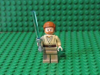 LEGO Star Wars Obi-Wan Kenobi Minifigure sw362 9494 Jedi Master OK94
