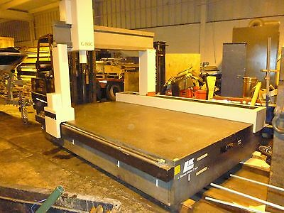 Granite Surface Plate 11x74.5x19 Thick Formerly Cmm Machine Good Condition