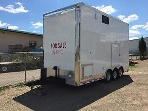 Fully loaded Stacker trailer