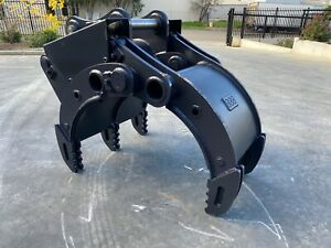 BBB EXCAVATOR HYDRAULIC GRAB TWIN CYLINDER INS TOCK Smeaton Grange Camden Area Preview
