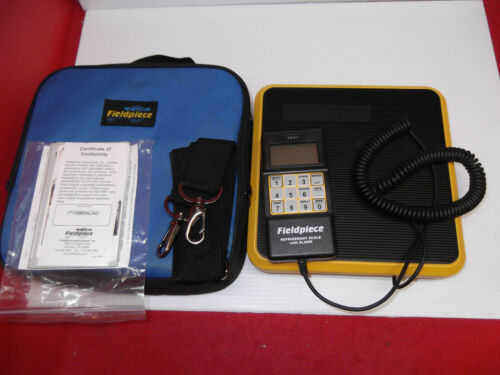 Fieldpiece SRS1 - Residential, Light Commercial Refrigerant Scale Super Clean!