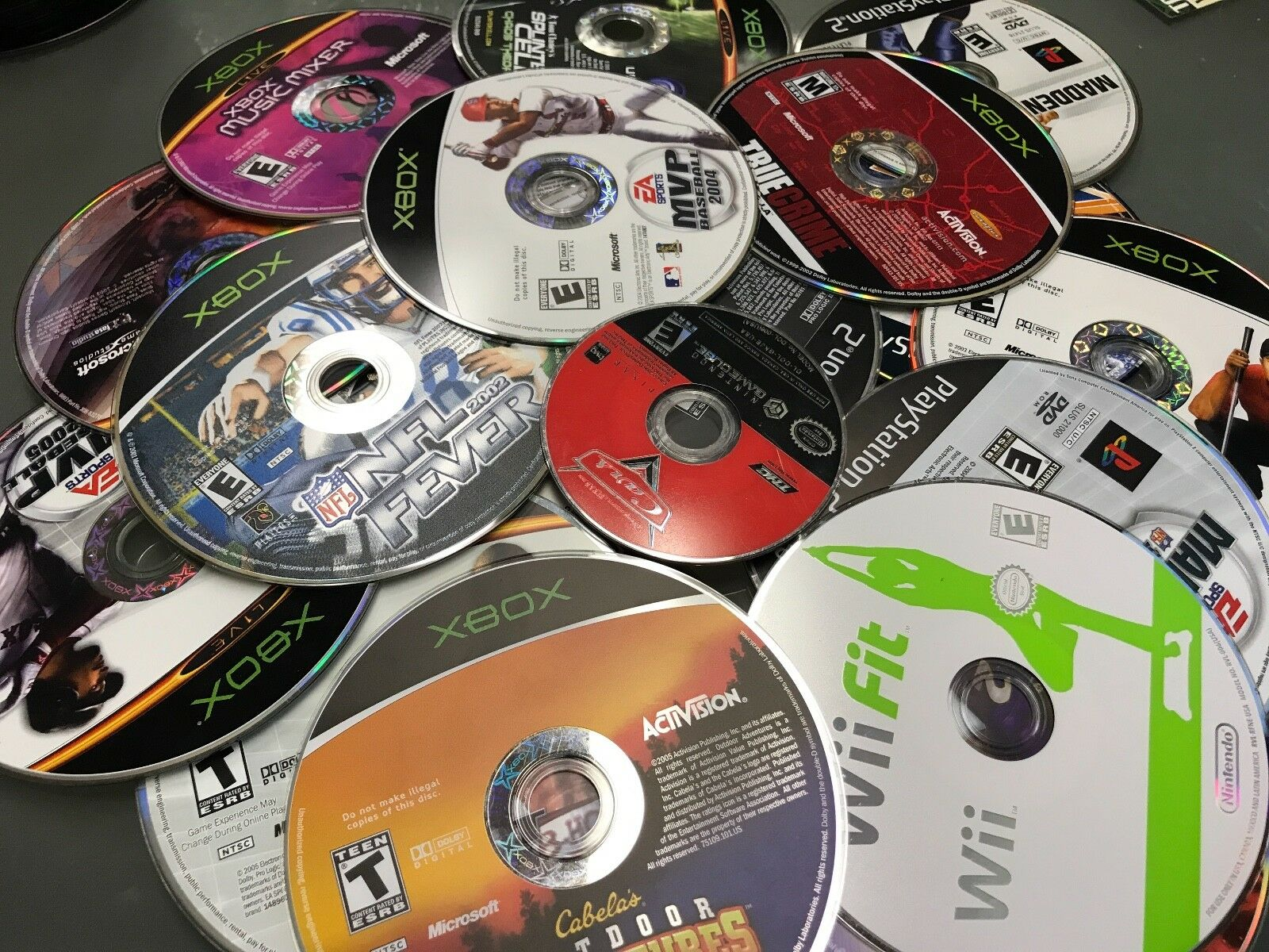 500 + DVD CD VIDEO GAME Lot BULK Wholesale! 500 Lot! Great Buy! BUY 3 Get 1 FREE