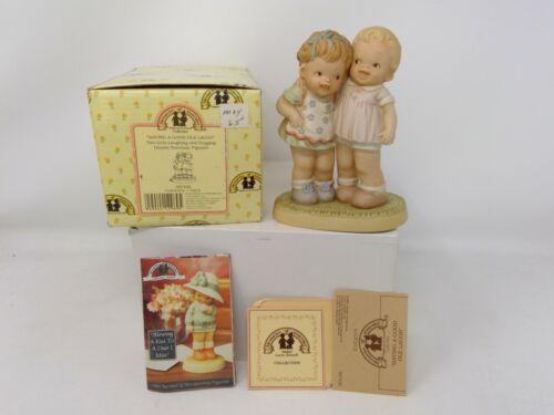 Enesco Memories of Yesterday Figurine - Having A Good Ole Laugh - 527432