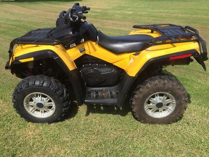 CanAm Outlander XT 500 4x4 2012 ATV quad
