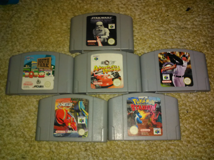 N64 and snes games