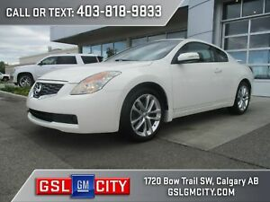 2009 Nissan Altima 3.5 SE 2 Door Coupe, White Exterior