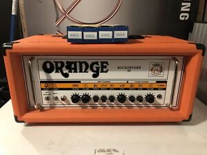 Orange Rockerverb 50 Mk I w/spare JJ tubes