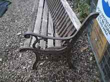 Garden bench needs new timbers North Richmond Hawkesbury Area Preview