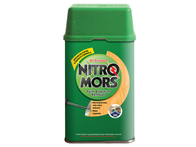 Nitro Mors All Purpose Paint and Varnish Remover 750ml Super Strength Formula