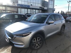 2018 Mazda CX-5 GT WITH TECH PKG, LOADED DEMO, FLOOR LINERS