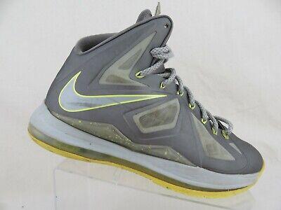 quality design 06d4c e218e NIKE Lebron X 10 Grey Sz 9.5 Men Basketball Shoes