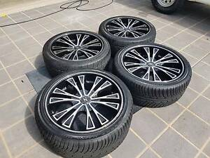 "22"" ZINIK Alloy Wheels and Tyres Mango Hill Pine Rivers Area Preview"