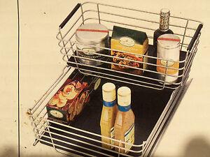 shelf amp cabinet sliding drawer metal organizer pull out. Black Bedroom Furniture Sets. Home Design Ideas