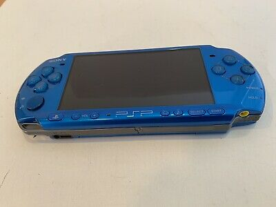 Sony PSP 3000 Blue  with AC Adapter  ***SHIP FROM U.S.A.***