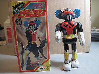 Takatoku Akumaizer-Super Hero Walker -Vintage Tin Toy-Made in Japan