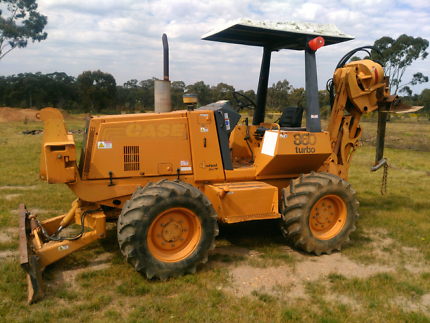 Case 860 Trencher for Sale or Hire