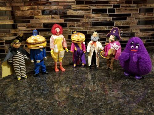 Lot of 7 Vintage Remco McDonald