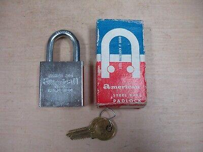Vintage American Lock Padlock --series 200 U.s. Lock--same As The 5200