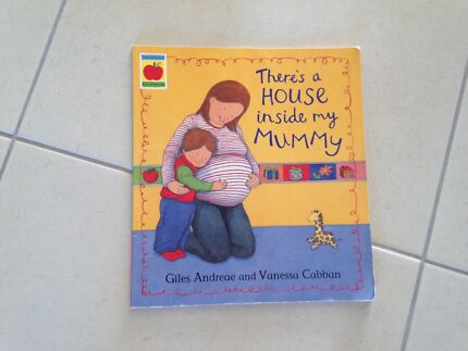 There's a House Inside My Mummy book - $5