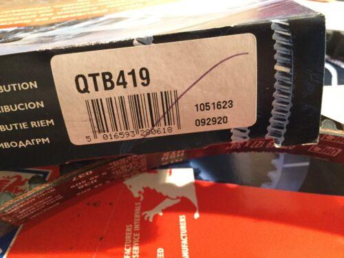 Quinton Hazell Cam Belt QTB419 Renault Laguna Megan's Volvo 440 480