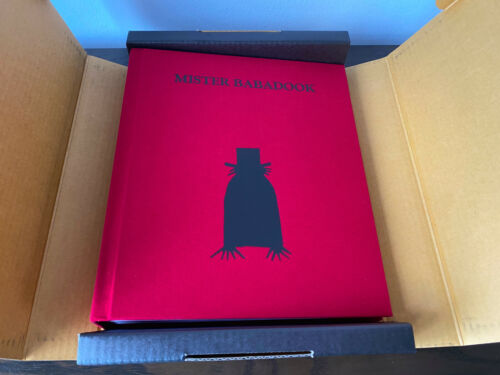 THE BABADOOK Mister Babadook Limited Horror Movie Prop Replica Pop-Up Book MINT