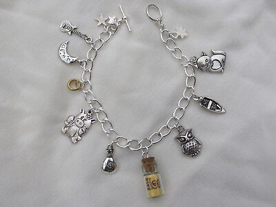VICTORIAN POEM THE OWL AND THE PUSSYCAT CHARM BRACELET](Owl Poem)