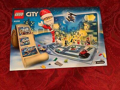 LEGO Advent Calendar City Town (60268) NEW in Box