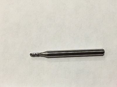 332 Solid Carbide Ball Nose End Mill New 4 Flute 213-0938