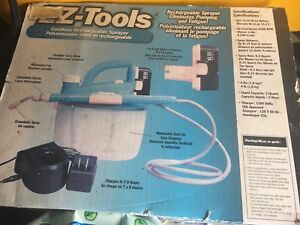 EZ-Tools 14.4v Cordless Rechargeable Sprayer