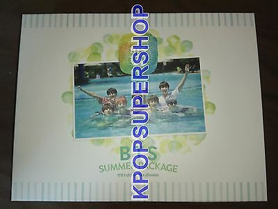 BTS SUMMER PACKAGE IN KOTA KINABALU 2015 DVD Travel Pouch Name Tag Great Cond.