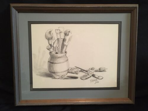 Vintage Original Drawing Artist s Toys By Noted Artist Lovella Todd - $55.21