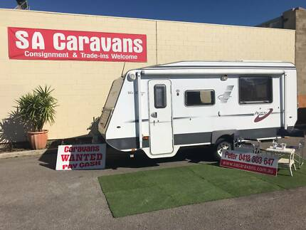 "2008 A'van ""The Erin HT"" Caravan with Air Condtioning Hampstead Gardens Port Adelaide Area Preview"