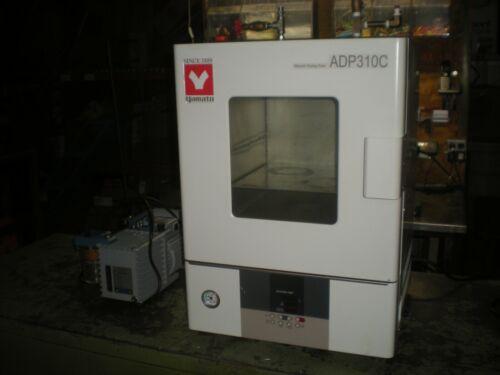 Yamato ADP310C Vacuum Laboratory Oven with Vacuubrand RZ6 Rotary Vane Pump