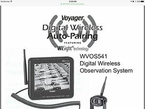 Voyager Digital Wireless back up Camera/  New 40% off