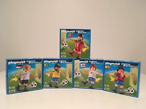 Playmobil soccer/football players lot
